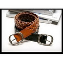 Leather Woven Old Style Casual Belt