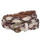 Simple Design Leather Durable Copper Buckle Women Belts