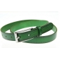 Durable Nature Green First Layer Leather Women Belts