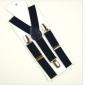 Fabir Steel Button Durable Suspenders