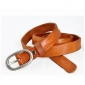 Fold Leather Antique Durable Classic Belts