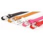 Women's Fashion Joker Diamond Candy Colors 98CM Length PU Belts