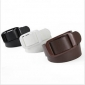 Coffee Universal Needle Buckle Plastic Belts