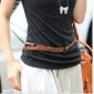 Brown New Tide Fine Style Fabric Belts