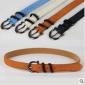 Needle Buckle Blue Rust-proof Leather Belts